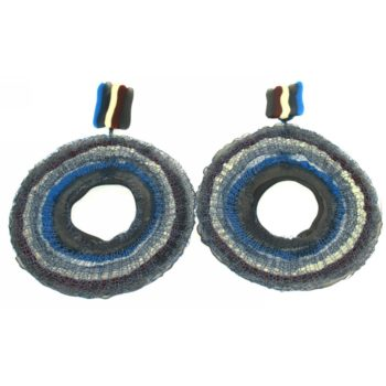 Orecchini in gomma e silicone Oxo Blue