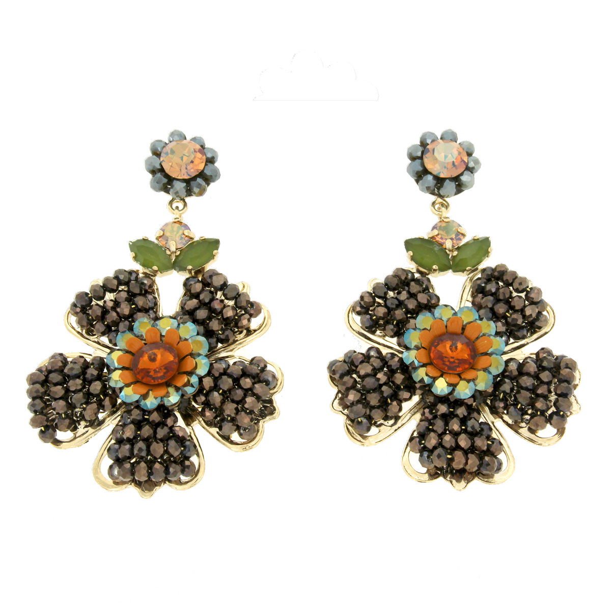 Orecchino fiore Folkflower