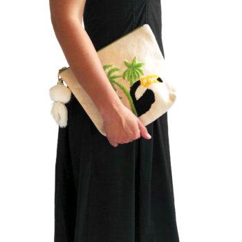 Handbag ricamata Tuca
