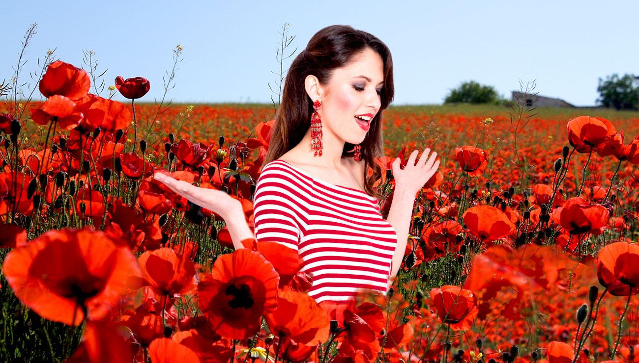 Red Wonder, selezione di gioielli rossi