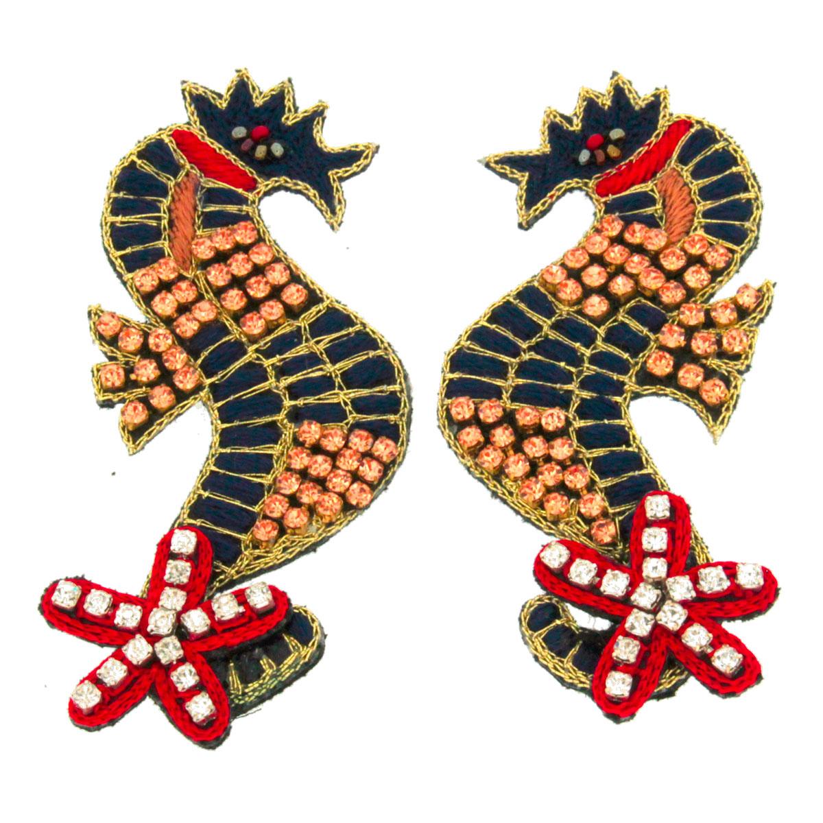 Orecchini soggetti marini Hothot
