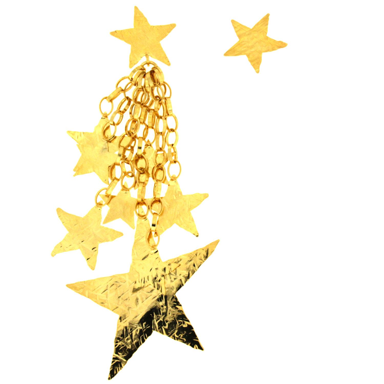 Orecchini grappolo di stelle Starfall One