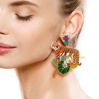 orecchini Principessa Glam Tigrala