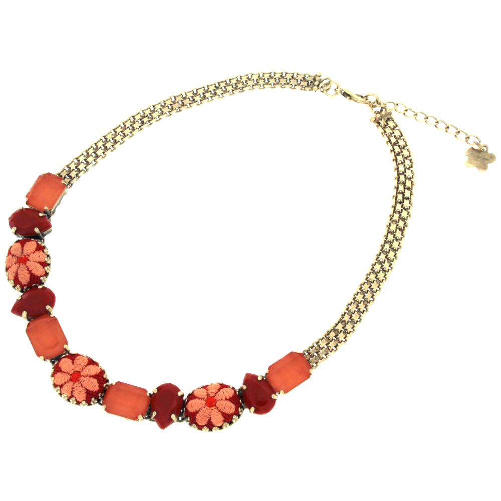 Collana living-coral Tapless