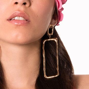 orecchini bronzo artigianali Rettavia