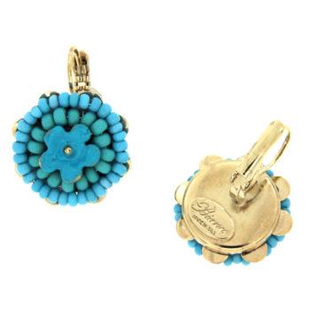 piccoli orecchini monachella color turchese Miss Turq