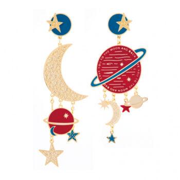 orecchini pianeta mars poetry