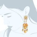 orecchini-gocce-gialle