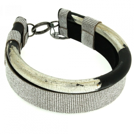Silverlined Choker