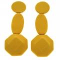 orecchini in tessuto Yellow-Totalgem-Uno