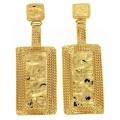 Orecchini dorati Gold Frame