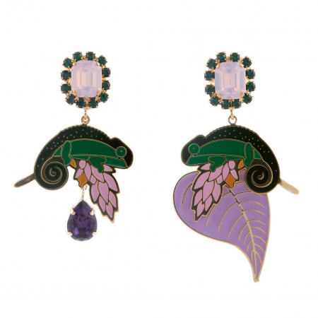 orecchini principessa glam camaleonti