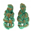 orecchini cotone cerato Ramenodo Due