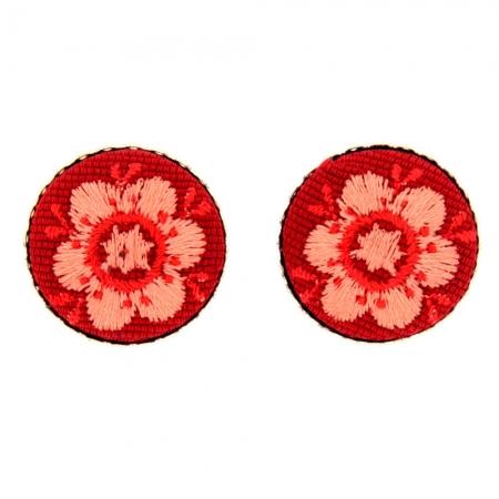 orecchini clips lobo Gardening Buttons