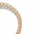 orecchini cerchio dorato a catena Ciara