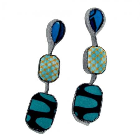 orecchini in tessuto Blue-Netgem-3